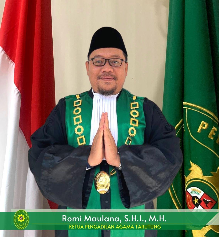 Ketua Pengadilan Agama Tarutung, H.M. Jazuli, S.Ag., M.H.